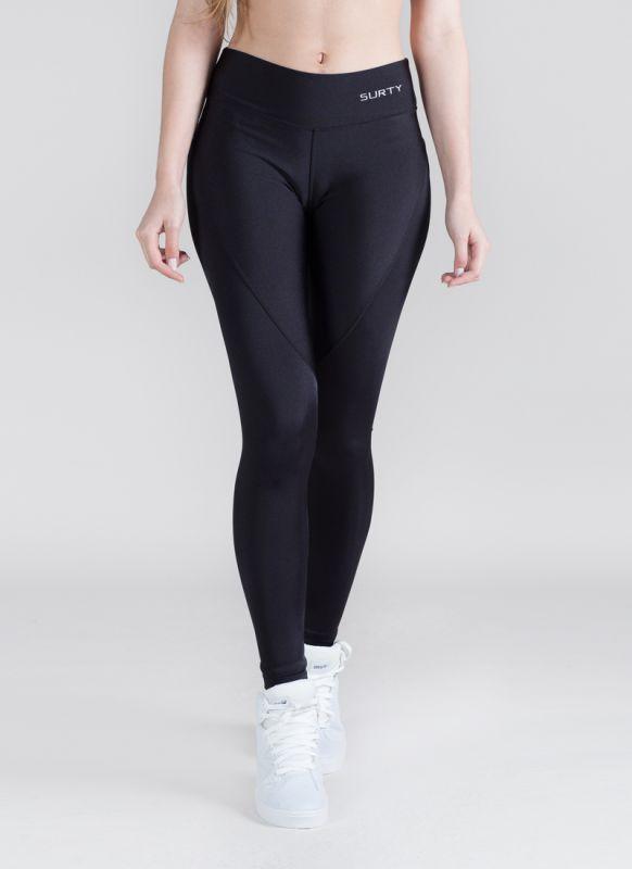Calça Legging Feminina Fitness Trilobal Preto Academia Surty Wish